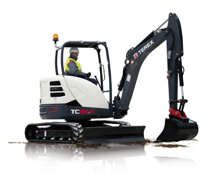 Terex introduces four 'rental-ready' compact excavators