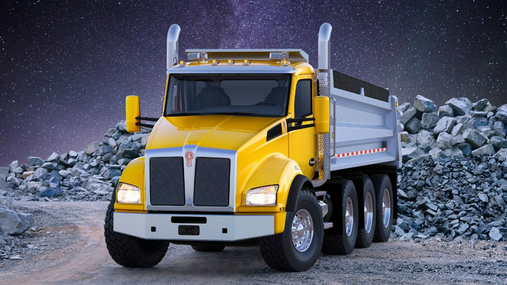 The vocational flagship Kenworth T880 is now available for order with the Hendrickson ULTIMAAX(R) advanced severe-duty rubber suspension.