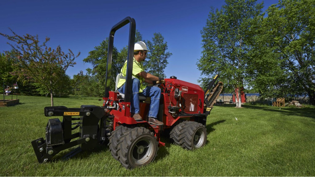 Toro introduces the Pro Sneak 365 vibratory plow - Canadian