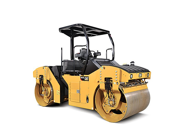 Caterpillar Inc. - CB44B - SOLID DRUM Tandem Asphalt Rollers