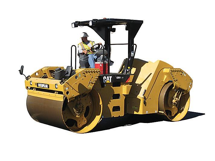 Caterpillar Inc. - CB54 XW Tandem Asphalt Rollers