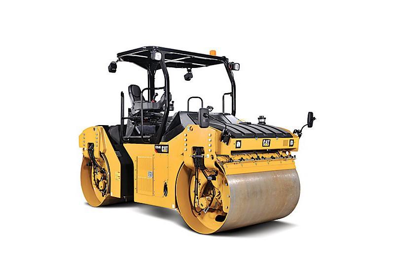 Caterpillar Inc. - CB54B - SPLIT DRUM Tandem Asphalt Rollers