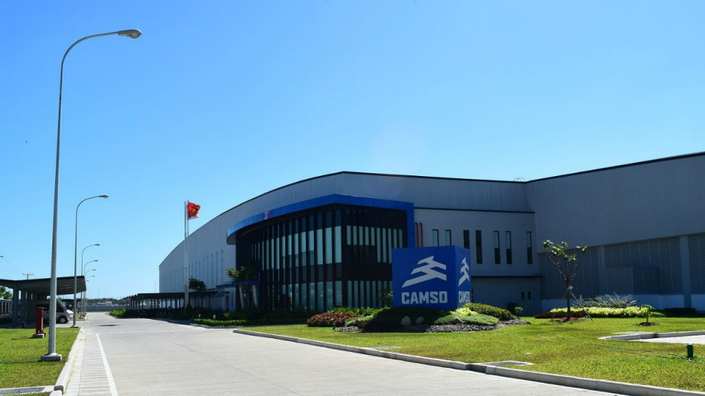 Vietnam's manufacturing facility is 23,000 m2 and  was built in 14 months.