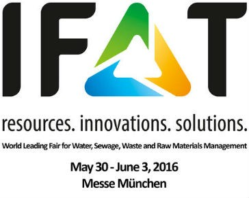 Mobile environmental technology on display at upcoming IFAT 2016