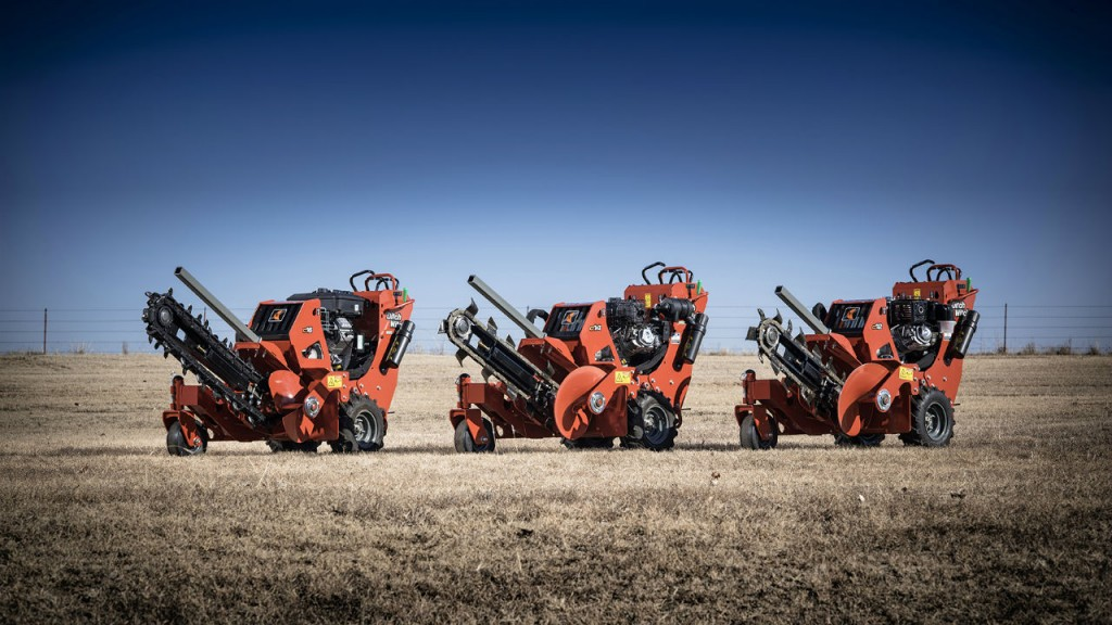 Ditch Witch will display a variety of equipment including the new line of walk-behind trenchers  at bauma 2016.