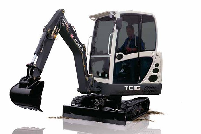 Terex Corporation - TC16 Excavators