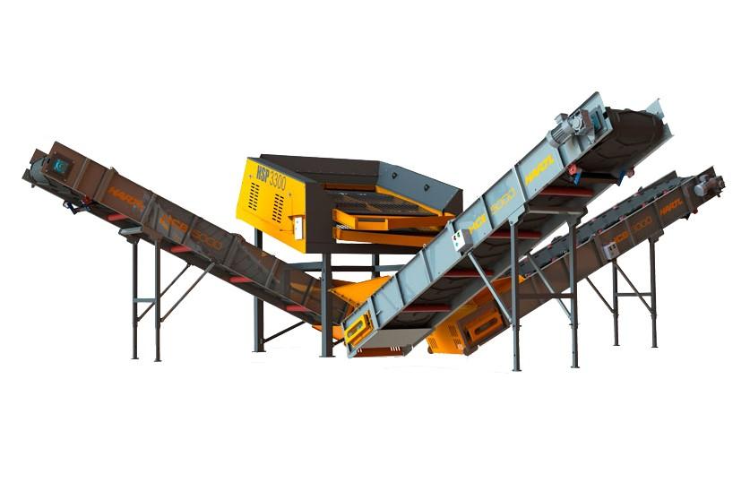 Hartl Crusher - HSP3300 Stationary Screens