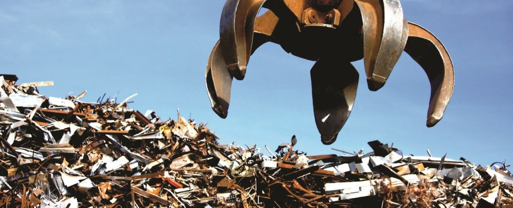 Ferrous scrap, by volume, is the most processed recyclable material in North America, and is one of the largest globally traded commodities, behind crude oil.