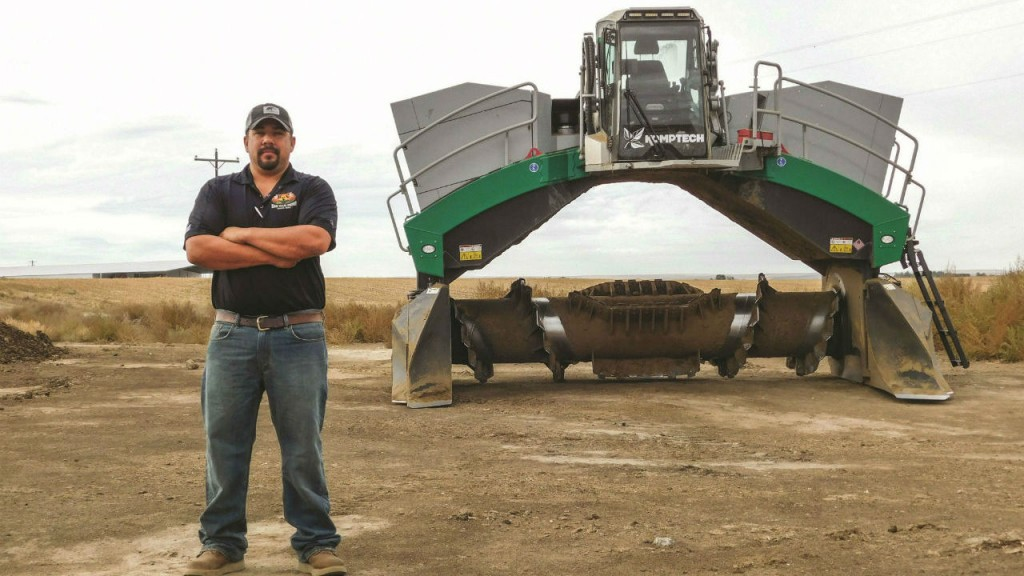 Ray Silene - General Manager and part owner of Magic Valley Compost.