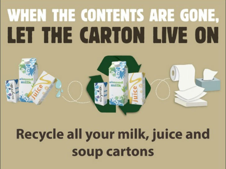 Ad used for the carton-focused digital advertising campaign, which ran in four Ontario communities  in Fall 2015