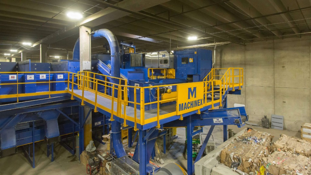 Lakeshore Recycling Systems MRF now includes advanced sorting technologies from Machinex including the MACH OCC, MACH One, Mach Ballistic and the MACH Hyspec Optical Sorter