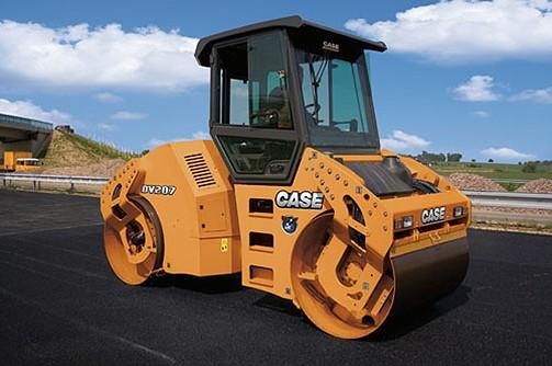 CASE Construction Equipment - DV207 Tandem Asphalt Rollers