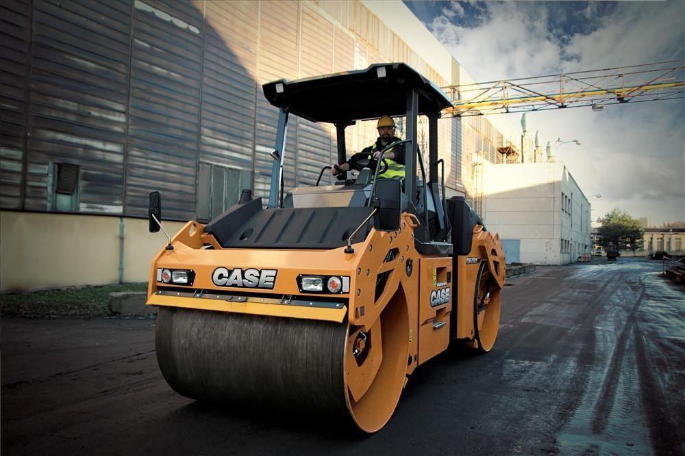CASE Construction Equipment - DV209C Tandem Asphalt Rollers