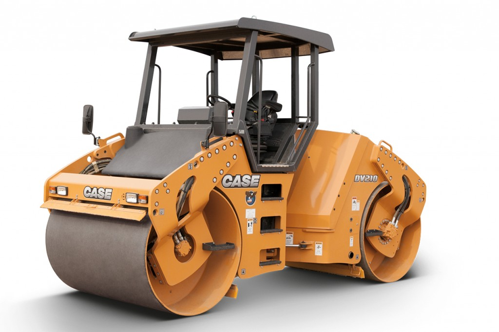 CASE Construction Equipment - DV210C Tandem Asphalt Rollers