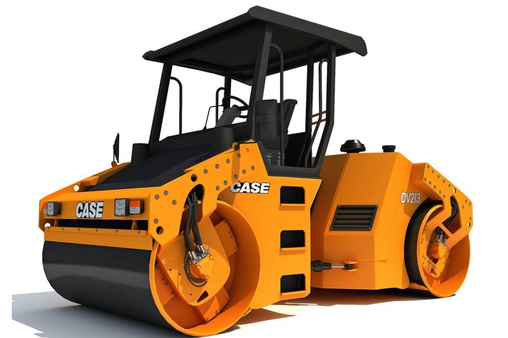 CASE Construction Equipment - DV213 Tandem Asphalt Rollers