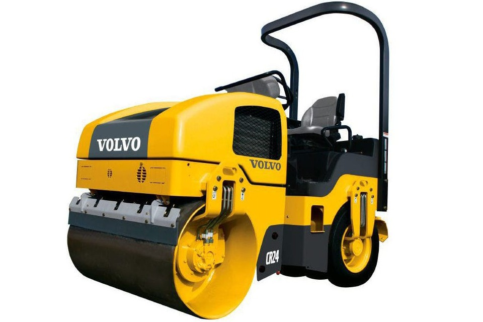 Volvo Construction Equipment - CR24 Tandem Asphalt Rollers