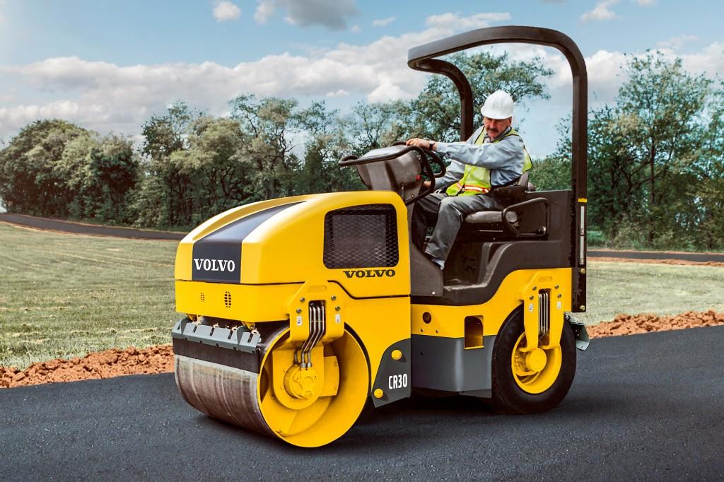 Volvo Construction Equipment - CR30 Tandem Asphalt Rollers