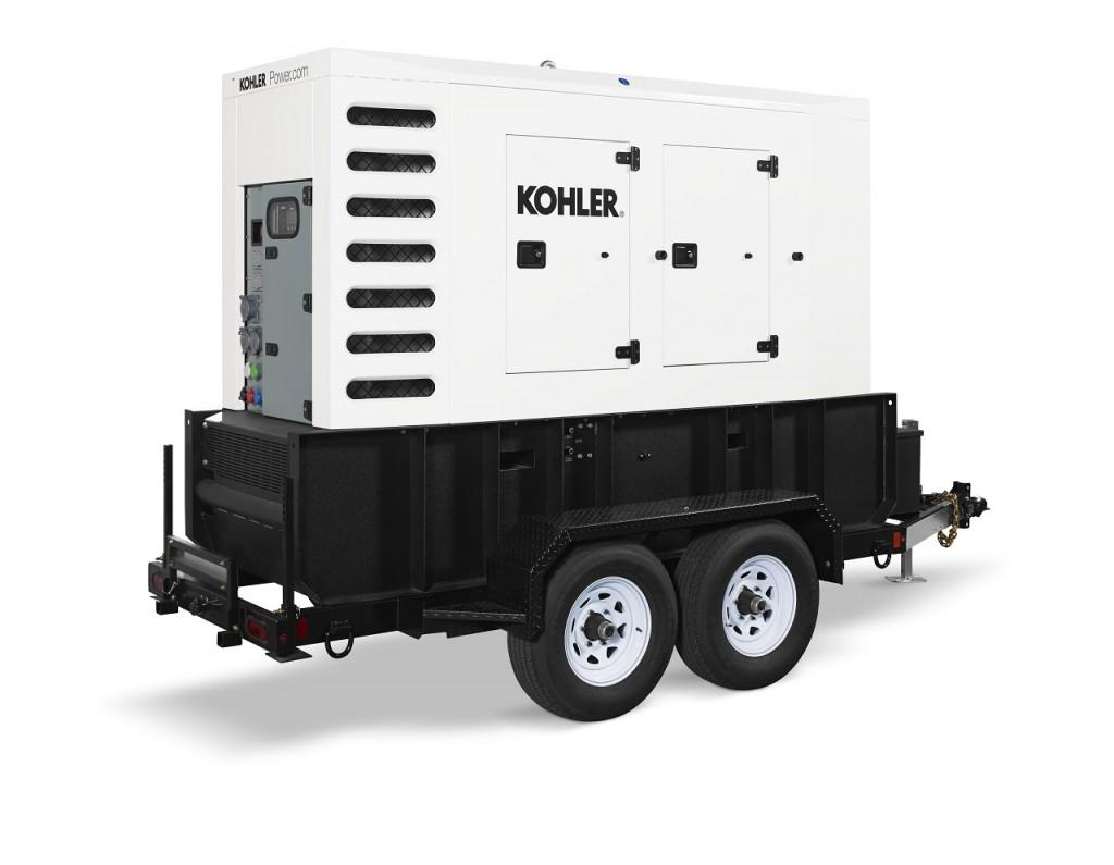 The 90REOZT4 mobile diesel generators