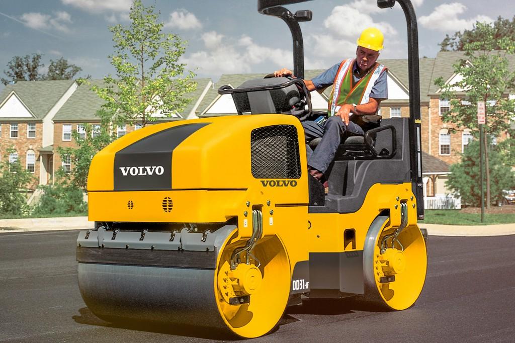 Volvo Construction Equipment - DD31HF Tandem Asphalt Rollers