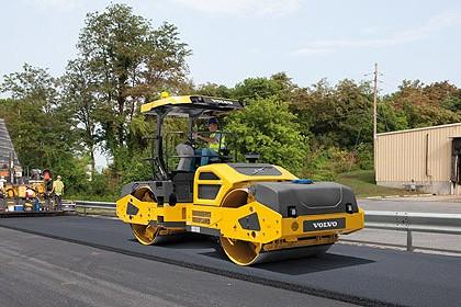 Volvo Construction Equipment - DD120B Tandem Asphalt Rollers