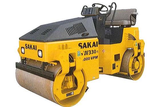 Sakai - SW300-1 Tandem Asphalt Rollers