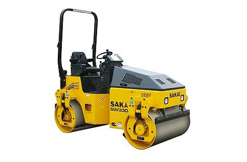 Sakai - SW330-1 Tandem Asphalt Rollers