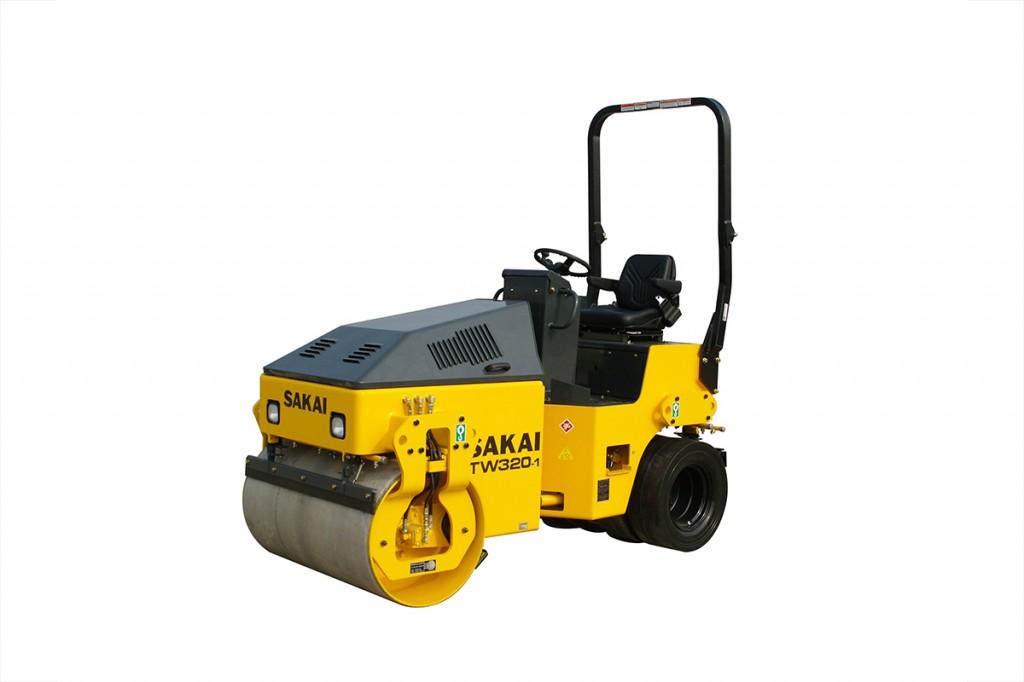 Sakai - TW320-1 Tandem Asphalt Rollers