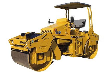 Sakai - SW652-1 Tandem Asphalt Rollers