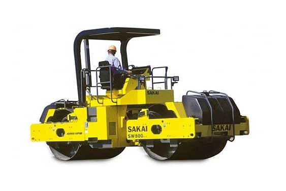 Sakai - SW800/800N Tandem Asphalt Rollers