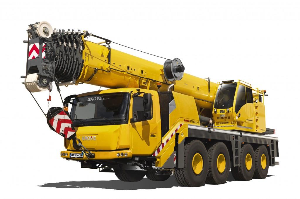 Manitowoc Company, Inc - Grove GMK4100L-1 Mobile Cranes