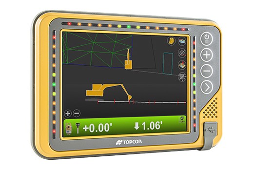 Topcon Positioning Systems - X-53i LPS Machine Control
