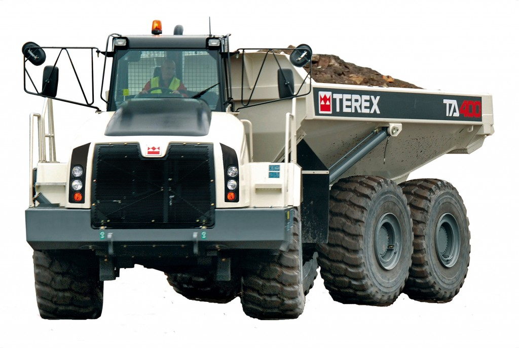Terex Trucks - TA400 Articulated Dump Trucks