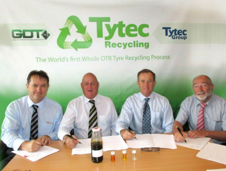 The Tytec Recycling management team, based in Perth, Australia.