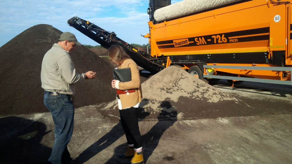 Mayer Materials uses Harvest Quest compost inoculants to take compost quality to the highest level.