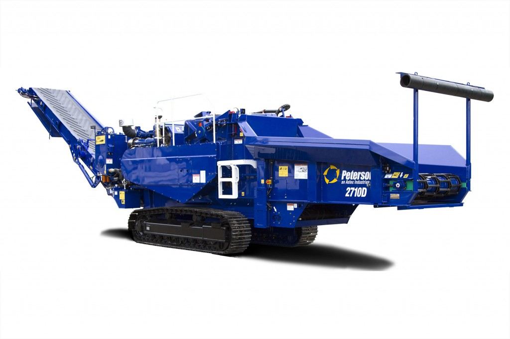 Peterson Pacific Corp - 2710D Horizontal Grinders