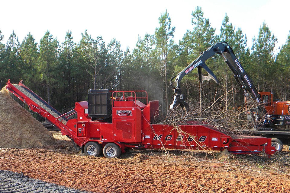 Rotochopper, Inc - MC-266 Horizontal Grinders