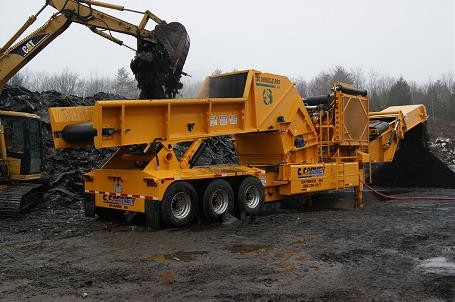 Continental Biomass Industries, Inc. - Shingle Pro XL 406 Portable Horizontal Grinders