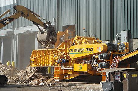 Continental Biomass Industries, Inc. - Magnum Force 8600 Stationary Horizontal Grinders