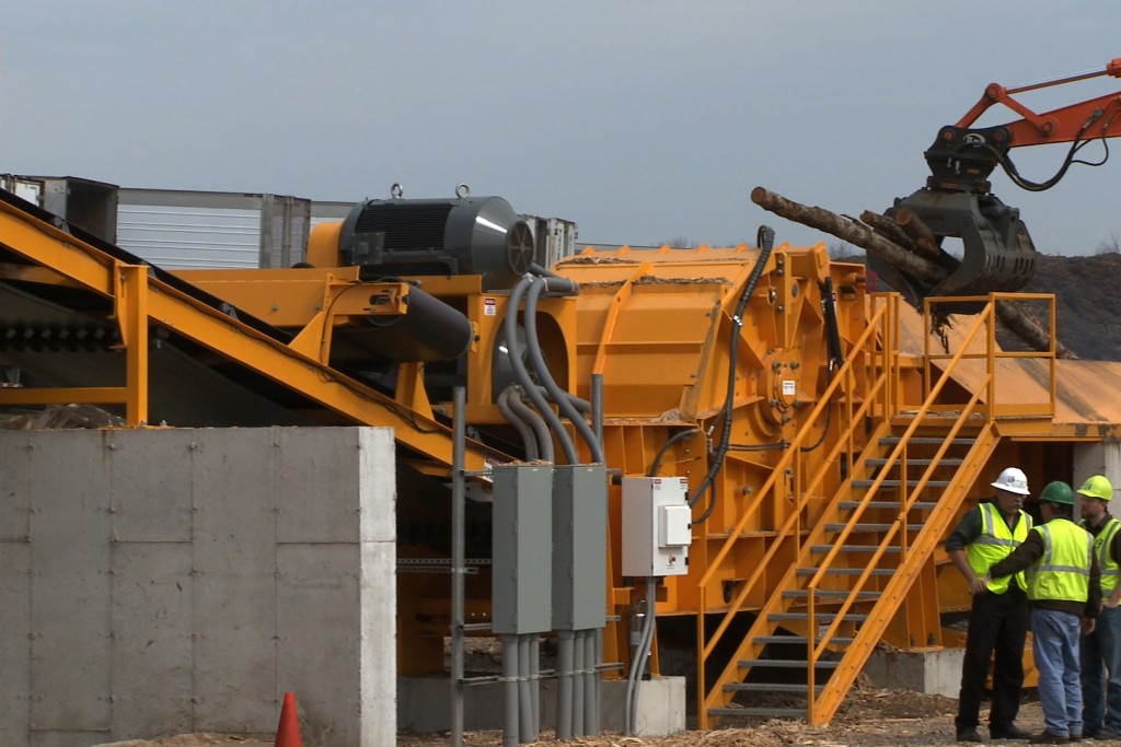 Continental Biomass Industries, Inc. - Magnum Force 8400 Stationary Horizontal Grinders