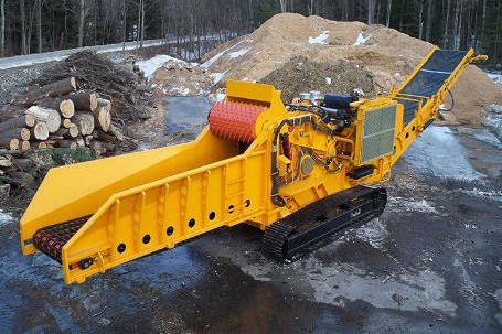 Continental Biomass Industries, Inc. - Magnum Force 8800 Portable Horizontal Grinders