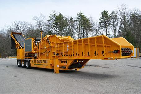 Continental Biomass Industries, Inc. - Magnum Force 8400Portable Horizontal Grinders