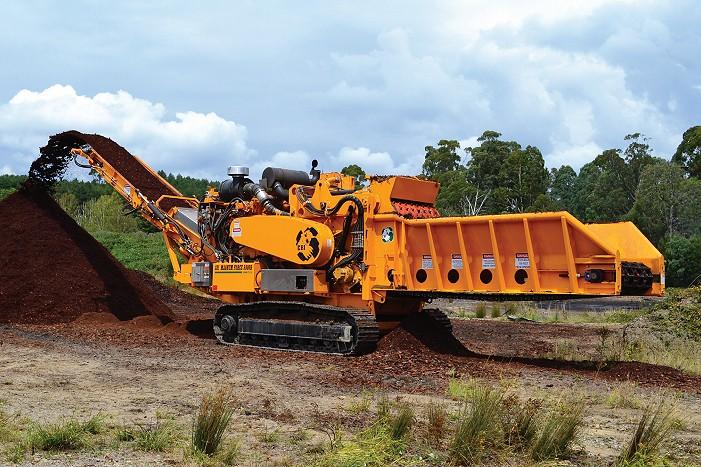 Continental Biomass Industries, Inc. - CBI 5800 BT(TBG650) Horizontal Grinders