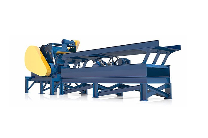 West Salem Machinery - WSM Horizontal Low RPM Grinders Horizontal Grinders
