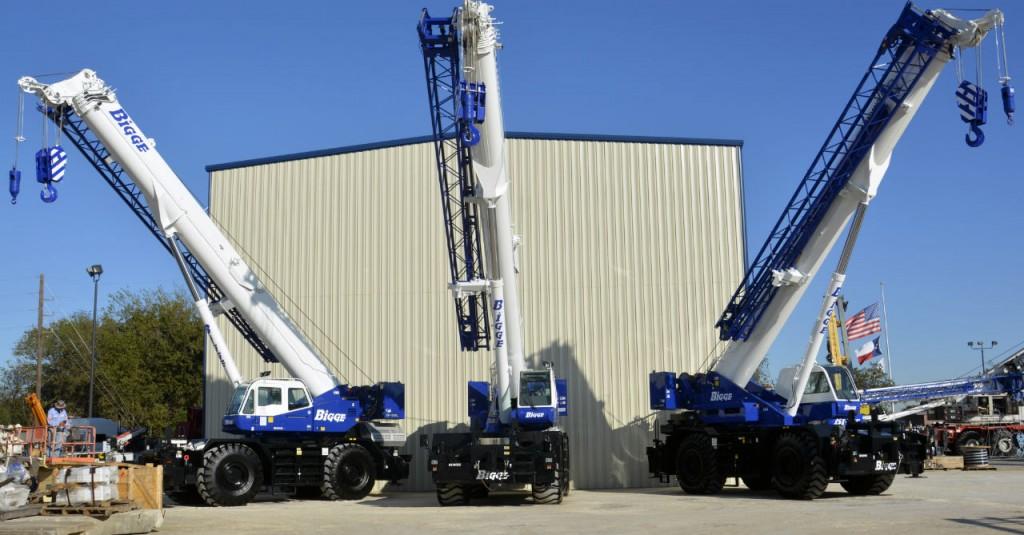 Bigge Crane celebrates 100 years in operation.