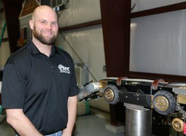 Josh Morris, Robot Specialist