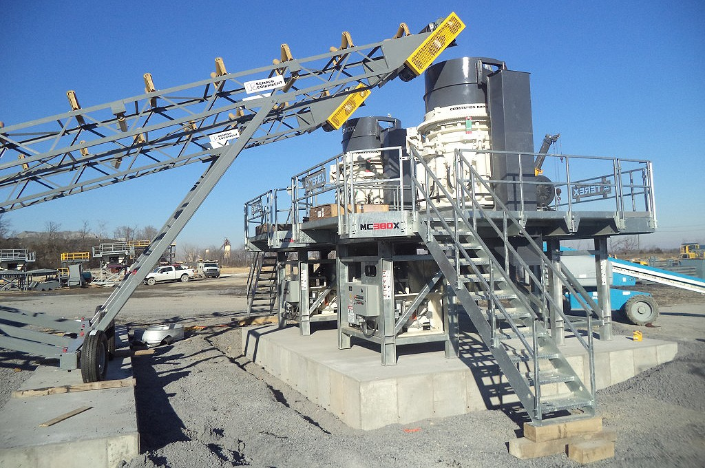 Terex Minerals Processing Systems - MC380X Stationary Cone Crushers