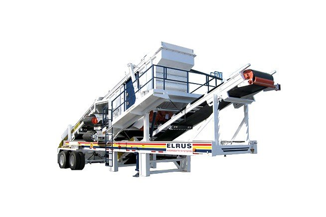 ELRUS Aggregates Systems - MS612 Portable Screens