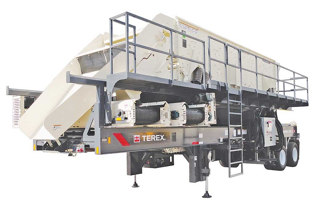 Terex Minerals Processing Systems - CRS620S Portable Screens