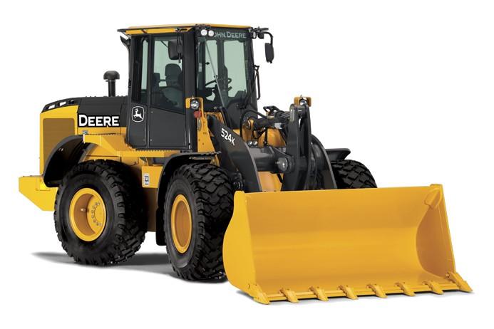 John Deere Construction & Forestry - 524K Wheel Loaders