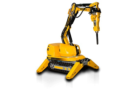 Brokk USA - Brokk 60 II Demolition Robots